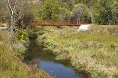 whitewater Fall River стоковая фотография rf