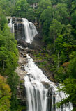 Whitewater Falls in Jocassee Gorge North Carolina Royalty Free Stock Photos