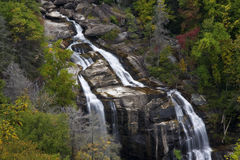 Whitewater Falls , the Lower Falls Stock Photography