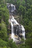 Whitewater Falls in North Carolina Royalty Free Stock Image