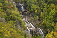 Whitewater Falls in North Carolina Stock Images
