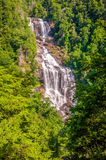 Whitewater Falls in North Carolina Royalty Free Stock Photos
