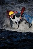 Whitewater freestyle Royalty Free Stock Images