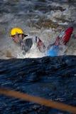 Whitewater freestyle Royalty Free Stock Photo