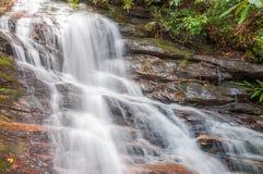 Whitewater in het Nationale Bos van Chattahoochee royalty-vrije stock foto