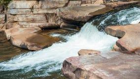 Whitewater i den Chattahoochee nationalskogen royaltyfri foto
