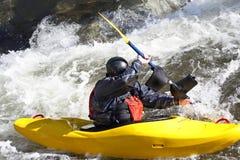 whitewater kayak Стоковые Фото