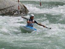 Whitewater Kayak Championship Stock Photo