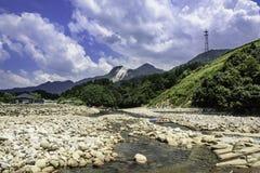Whitewater kayaking stock photography