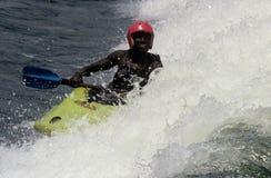 Whitewater kayaking, South Africa Royalty Free Stock Photos