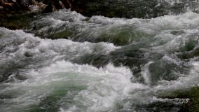 Whitewater on the Merced river loop stock footage