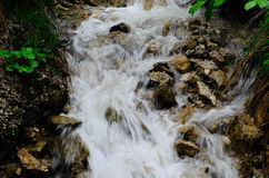 Whitewater mountain Royalty Free Stock Photography