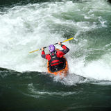 Whitewater rafting Royalty Free Stock Photo