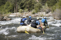 Whitewater Rafting Stock Images