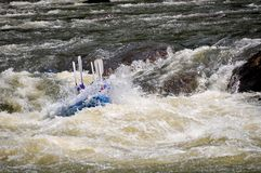Whitewater Rafting stock fotografie