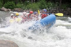 Whitewater Rafting Fun royalty free stock photo