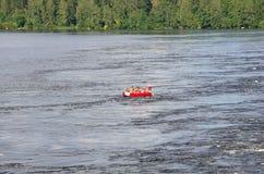Whitewater rafting Royalty Free Stock Photos