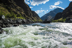 Free Whitewater Rapids In Hells Canyon, Idaho Stock Image - 71383041