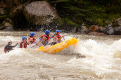 Whitewater River Rafting Adventure Royalty Free Stock Photo