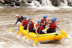 Whitewater River Rafting Adventure Royalty Free Stock Photography