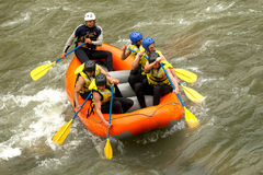 Whitewater River Rafting Royalty Free Stock Photo