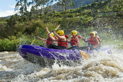 Whitewater River Rafting Royalty Free Stock Image