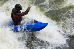 Whitewater Surfing Stock Photos