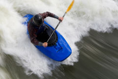 Whitewater Surfing Too Royalty Free Stock Photo