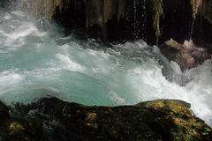 Whitewater van de Duden-rivier Stock Afbeeldingen