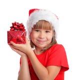 whith подарка ребенка стоковое фото