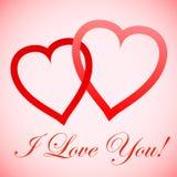 Whith miłość dla Ciebie! Obraz Royalty Free