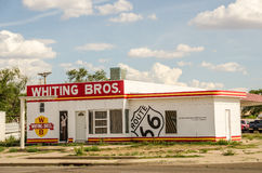 Whiting Bros. in Tucumcari Royalty Free Stock Photo
