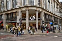 Whitleys centrum handlowe Zachodni Londyn Zdjęcie Royalty Free