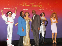 Whitney Houston Wax Figures, Stock Photo