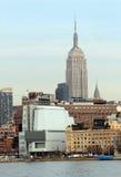 Whitney Museum, Empire State Building, Chrysler che costruisce Tom Wurl Fotografia Stock Libera da Diritti