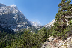 Whitney Portal area-Meysan Lakes Trail- Inyo National Forest,- CA- . Stock Image