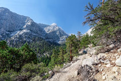 Whitney Portal area-Meysan Lakes Trail- Inyo National Forest,- CA- . Stock Photography