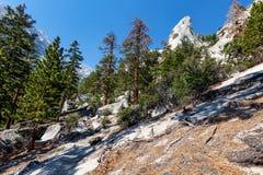 Whitney Portal area-Meysan Lakes Trail- Inyo National Forest,- CA- . Royalty Free Stock Photo