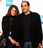 Whitney Scott and Peter Jacobson Stock Image