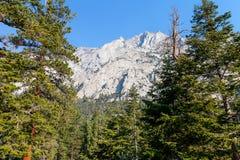 Whitney terenu jezior śladu Inyo Wrotny las państwowy, - CA Fotografia Stock