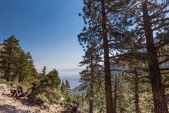 Whitney terenu jezior śladu Inyo Wrotny las państwowy, - CA Obrazy Royalty Free