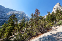 Whitney terenu jezior śladu Inyo Wrotny las państwowy, - CA Obraz Stock