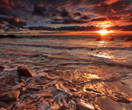 whitsand залива Стоковые Фотографии RF