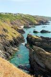 Whitsand Bay coastline Cornwall England UK Stock Photo