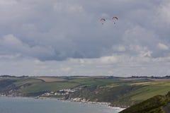 Whitsand fjärd, Cornwall Arkivbild