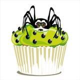 Whitspinne Halloween-kleinen Kuchens vektor abbildung
