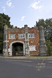 Whitstable Castle Gatehouse. The Gatehouse to Castle in the Kent seaside town of Whitstable England Royalty Free Stock Image