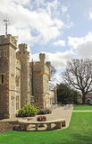 Whitstable castle grounds Royalty Free Stock Image
