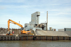 Whitstable Cement Works Royalty Free Stock Photo