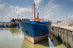 Whitstable Hafen Stockbild